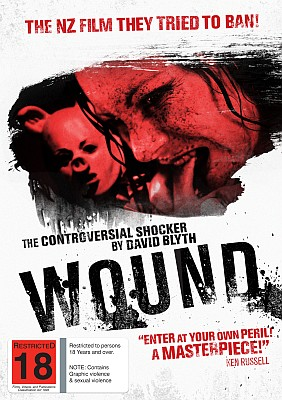 Wound DVD Cover NZ